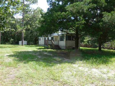 Williston FL Single Family Home For Sale: $34,500