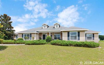 Gainesville Single Family Home For Sale: 10247 SW 98th Terrace