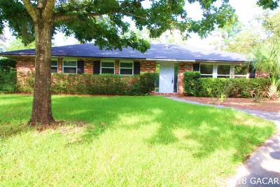 Gainesville Single Family Home For Sale: 1801 NW 36TH Drive