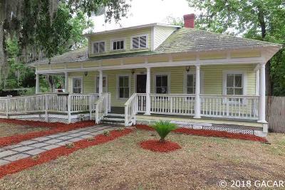 High Springs Single Family Home For Sale: 18421 High Springs Main Street