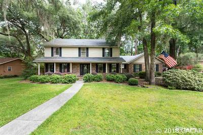 Gainesville Single Family Home For Sale: 3714 SW 56TH Road