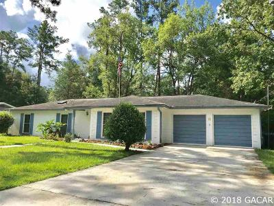 Gainesville Single Family Home For Sale: 3039 NW 45TH Avenue
