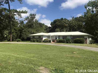 Williston FL Single Family Home For Sale: $199,000