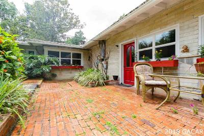 Gainesville Single Family Home For Sale: 1740 NW 12TH
