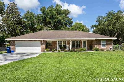 Newberry Single Family Home For Sale: 340 SW 254TH Street