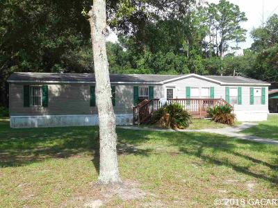 Williston FL Single Family Home For Sale: $50,000