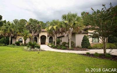 Gainesville Single Family Home For Sale: 6019 NW 90th Street
