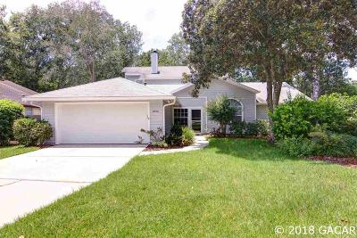 Gainesville Single Family Home For Sale: 6542 NW 37TH Drive