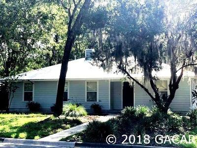 Gainesville Single Family Home For Sale: 2915 NW 50th Terrace