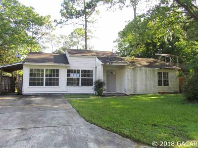 Gainesville Single Family Home For Sale: 2534 NW 52nd Avenue