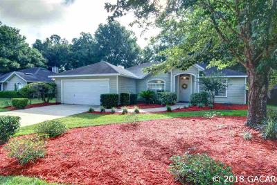 Gainesville Single Family Home For Sale: 6351 SW 84th Terrace