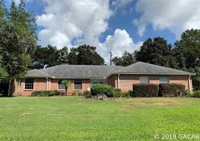 Alachua Single Family Home For Sale: 6306 NW 105th Avenue