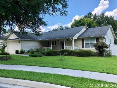 Alachua Single Family Home For Sale: 14652 NW 150th Place