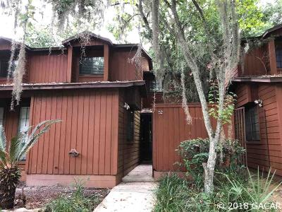 Gainesville Condo/Townhouse For Sale: 900 SW 62 Boulevard #I-52