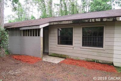 Gainesville Condo/Townhouse For Sale: 7020 SW 46TH Avenue