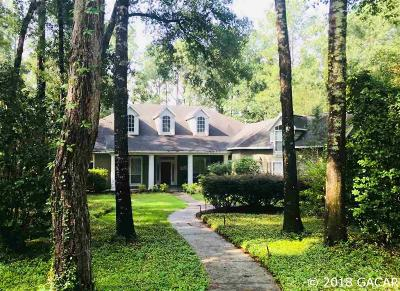 Gainesville Single Family Home For Sale: 10317 SW 17th Place