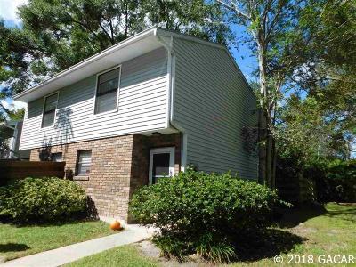 Gainesville Condo/Townhouse For Sale: 4546 SW 44 Lane