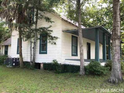 High Springs Single Family Home For Sale: 24566 W US Hwy 27