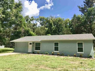 Archer Single Family Home For Sale: 15890 SW County Road 346