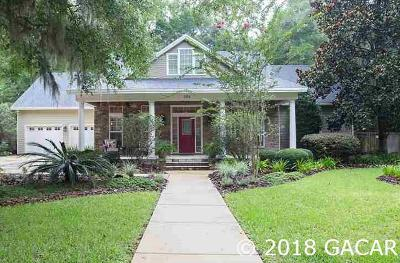 Newberry Single Family Home For Sale: 384 SW 132nd Terrace