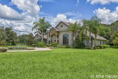 Ocala FL Single Family Home For Sale: $1,222,000