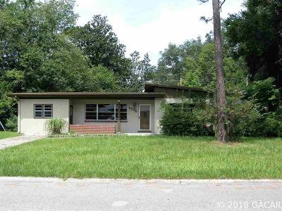 Gainesville Single Family Home For Sale: 1506 NE 14TH Street