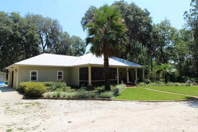 Melrose Single Family Home For Sale: 1043 SE County Road 21