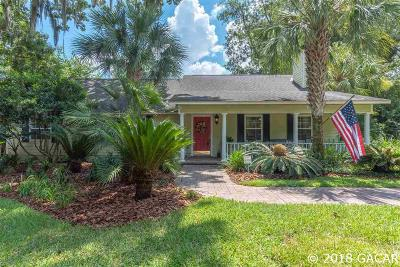 Gainesville Single Family Home For Sale: 1621 NW 94TH Street