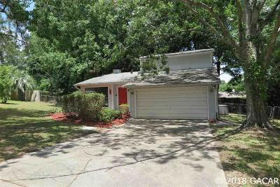 Gainesville Single Family Home For Sale: 526 NW 99TH Terrace