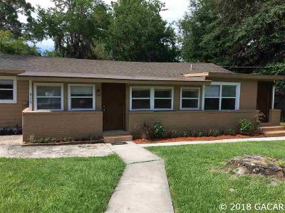 Gainesville Single Family Home For Sale: 915 SE 12 Avenue