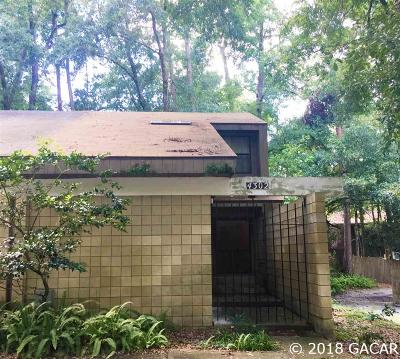 Gainesville Condo/Townhouse For Sale: 4302 SW 69 Terrace