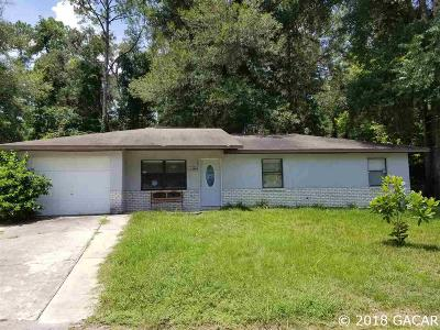 Alachua Single Family Home For Sale: 12004 NW 148 Place
