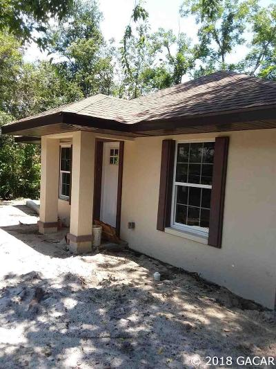Gainesville Single Family Home For Sale: 911 NE 17th Drive