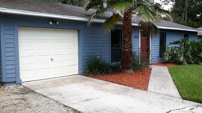 Gainesville FL Single Family Home For Sale: $172,900