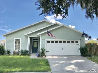 Alachua Single Family Home For Sale: 16022 NW 121ST