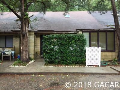 Gainesville FL Condo/Townhouse For Sale: $81,000