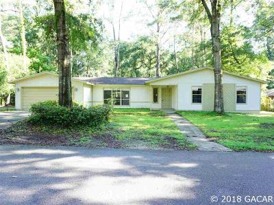 Gainesville FL Single Family Home For Sale: $219,500