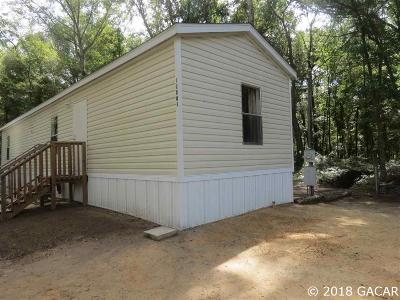Archer Single Family Home For Sale: 10861 NE 106 Court