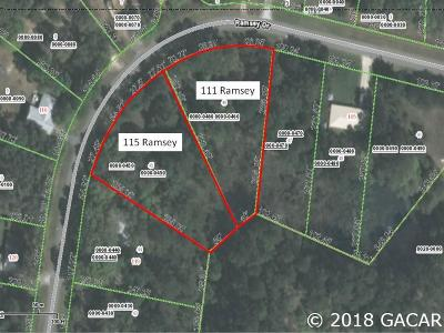 Melrose Residential Lots & Land For Sale: 111 Ramsey Drive