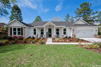 Alachua Single Family Home For Sale: 11126 NW 66TH Drive