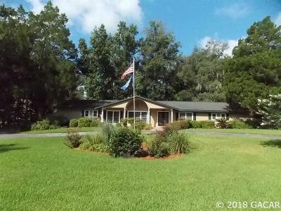 Alachua Single Family Home For Sale: 11030 NW Creek Drive