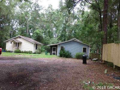 Gainesville FL Multi Family Home For Sale: $125,000