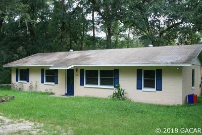 Gainesville FL Single Family Home For Sale: $162,500