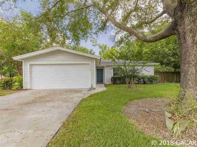 Alachua Single Family Home For Sale: 10908 NW 60TH Terrace