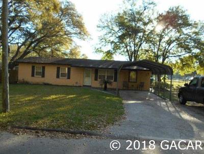Alachua Single Family Home For Sale: 14115 NW 138th Street