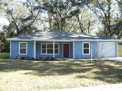 Gainesville FL Single Family Home For Sale: $128,000