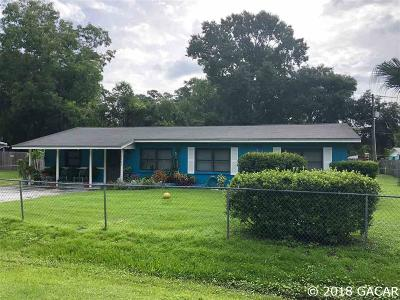 Gainesville FL Single Family Home For Sale: $129,500