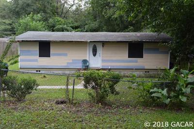 Alachua Single Family Home For Sale: 13604 NW 158 Avenue