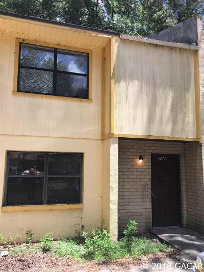 Gainesville FL Condo/Townhouse For Sale: $25,000