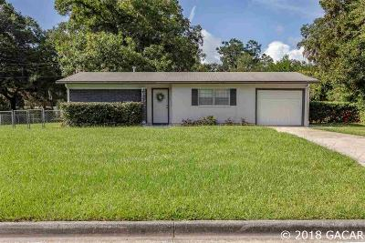 Gainesville FL Single Family Home For Sale: $159,900